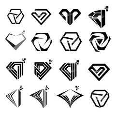 diamond logotype