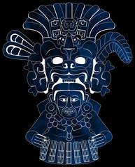 Maya - Yum Kaax 2 - Blue & Black