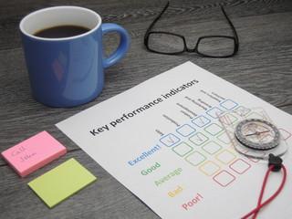 Key performance indicators and compass