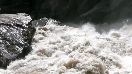 Scenery of Tiger leaping gorge. Tibet. China.