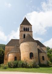 The Church in Saint-Léon-sur-Vezere