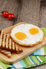 Pan Fried eggs
