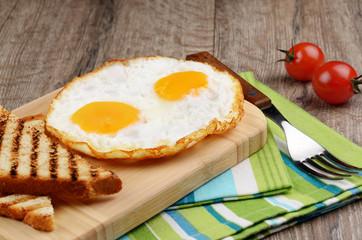 Pan Fried eggs