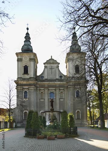 Church of the Transfiguration in Paradyz. Poland - 78190208