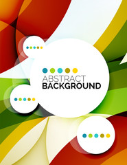 Colorful fresh modern abstract background