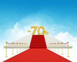 seventy percent discount