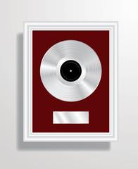 aluminum LP frame
