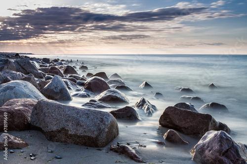 Fototapeta Steine an der Ostsee