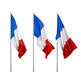 three flags of France