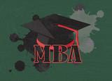 mba symbol poster
