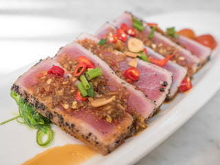 Spicy Tuna, Japanese Fusion Cuisine