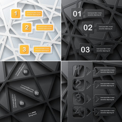 Set of Infographic element of business v.4