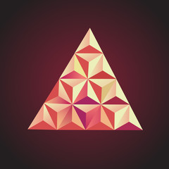 Piramida element vector