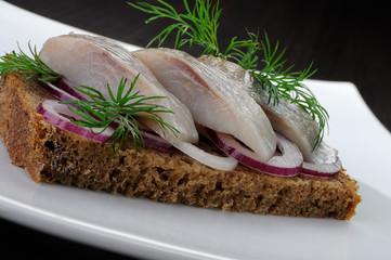 Appetizer of herring