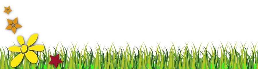 illustration en herbe
