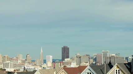 San Francisco downtown buildings skyline