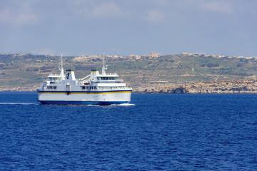 Malta ferry boat