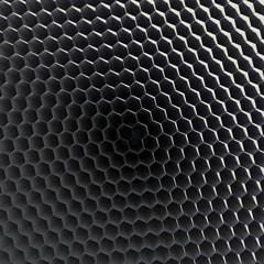 Graphene honecomb grid texture