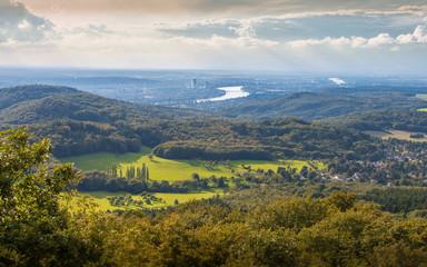 Blick auf Bonn vom Ölberg