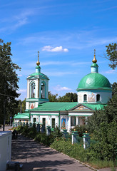 Cathedral of the Holy Trinity on the Sparrow Hills in Moscow