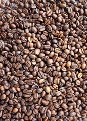 Sfondo chicchi caffè