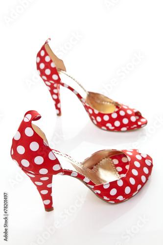 canvas print picture Damen Schuhe High Heels