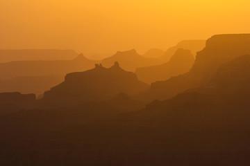 Grand Canyon's illusion