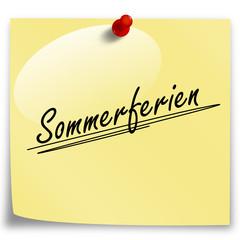 Post-It Sommerferien!