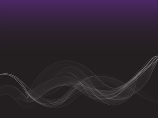 Smoke abstract background with gradient