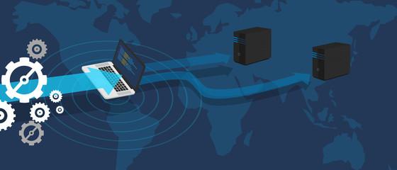 distributed miror database server big data