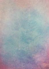 Blue and pink romantic grungy background texture