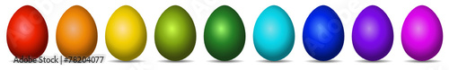 Colourful Easter Eggs - 78204077