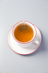 cup of tea and teabag