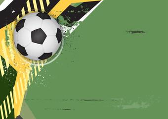 vector soccer grunge background design