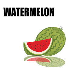 water melon with font