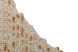 Traditional Jewish holiday food - Passover matzo background