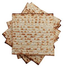 Traditional Jewish holiday food - Passover matzo background © Stockninja
