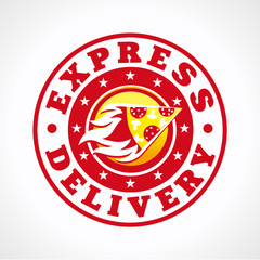 Express delivery pizza