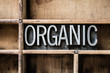 Organic Letterpress Type in Drawer - 78210684