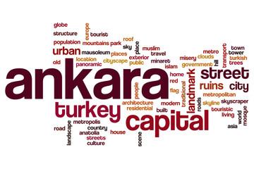 Ankara word cloud