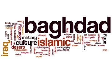 Baghdad word cloud