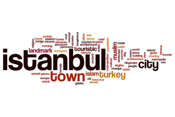 Istanbul word cloud