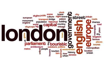 London word cloud