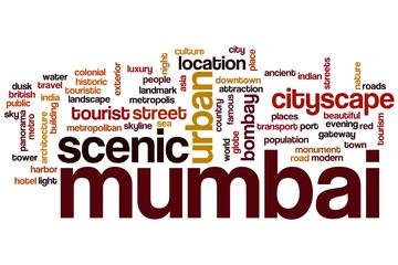 Mumbai word cloud