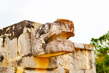 Sentinel, Chichen Itza, Mexican artifacts