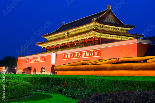 Tiananmen Gate in Beijing, China