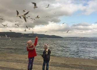 Kuşlar ve Çocuklar