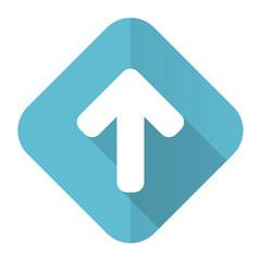 up arrow flat icon arrow sign