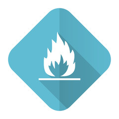 flame flat icon