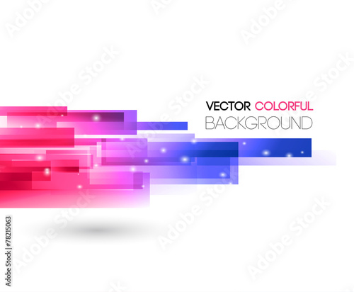 Abstract technology lines vector background - 78215063